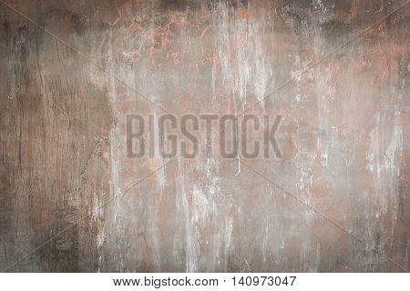 Botched plaster wall background with space for text