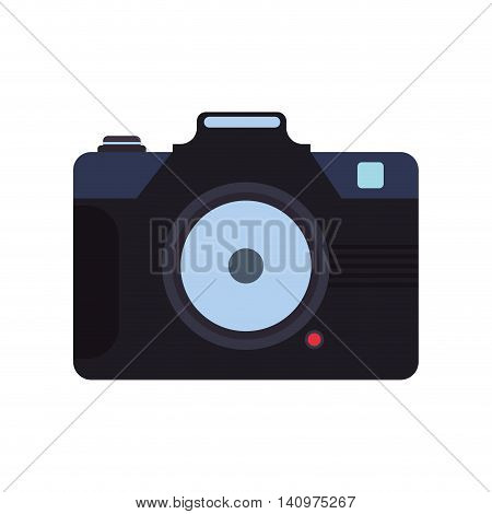camera focus gadget technology icon. Isolated and flat illustration. Vector graphic