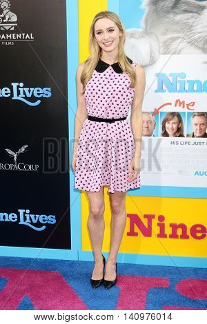 LOS ANGELES - AUG 1:  Greer Grammer at the