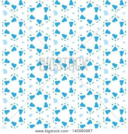 Star Of David Vector Seamless Pattern