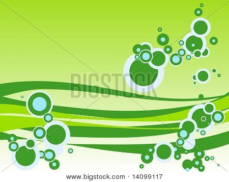 circle wave style backgrounds