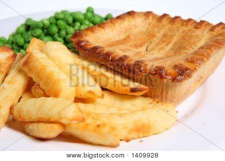 Steak Pie & Chips
