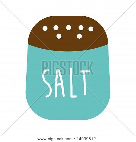 salt ingredient isolated icon vector illustration graphic
