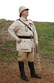 stock photo of afrikaner  - South African Boer officer - JPG