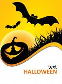 picture of happy halloween  - halloween poster - JPG