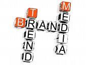 Brand Crossword poster
