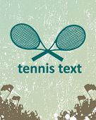 picture of deuce  - tennis poster - JPG