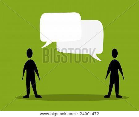 Talk People Concept