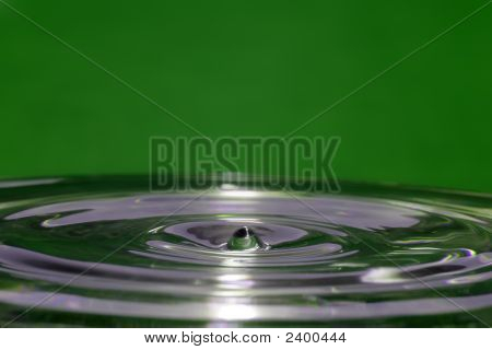 Ripples On Green