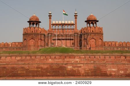 Lahore Front Gate Red Fort Delhi, India