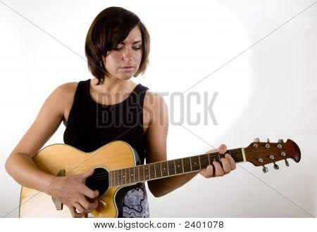 Woman With Guitar 4
