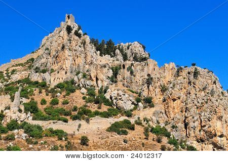 Monastery Saint Hilarion Castle