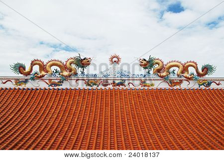 Dragon Status On Roof