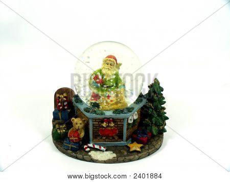 Green Santa Claus