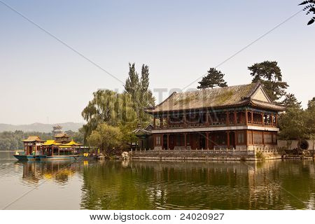 Chinese Wooden Tower