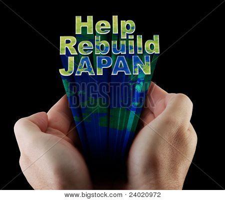 Japan Rebuild Hilfetext