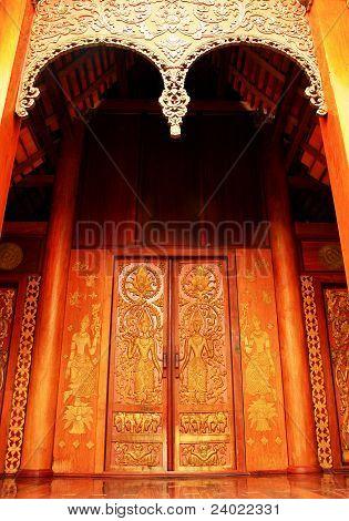 The ancient door