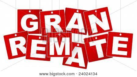 Big Sale / Gran Remate Sign