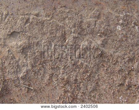Dirt Encrusted Metal