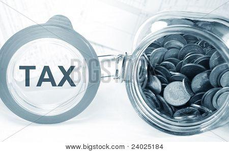 Tax concept