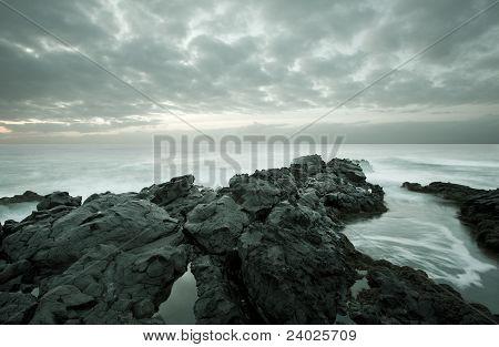 Beautiful Seaside Landscape