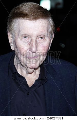 LOS ANGELES, CA - OCT 3: Sumner Redstone at Paramount Pictures' premiere of 'Footloose' held at the Regency Village Theater on October 3, 2011 in Los Angeles, California