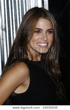 LOS ANGELES, CA - OCT 2: Nikki Reed at the 'Real Steel' premiere at the Gibson Amphitheater at Universal Studios in Los Angeles, California on October 2, 2011