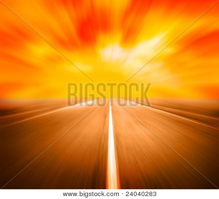 beauty high velocity on route
