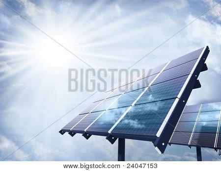 Instalación fotovoltaica industrial