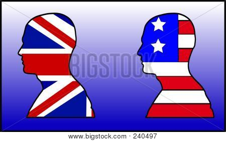 Uk And American Head