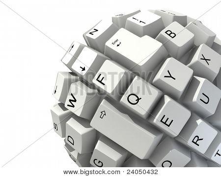 bola de teclado Resumen