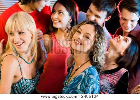 Interaction At A Party