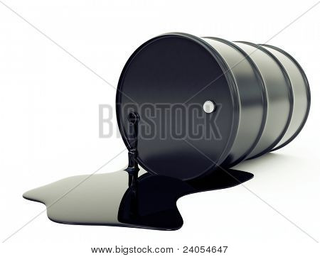 oil barrel and pool