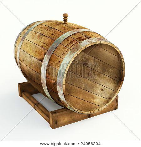 old barrels