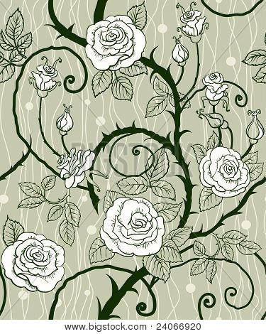 Rose Background Seamless