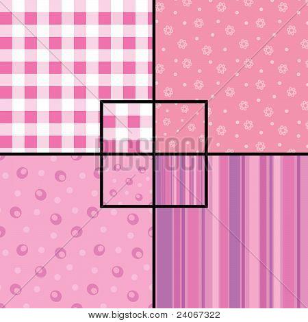 Pink Seamless Patterns