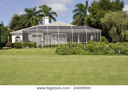 Screened Patio In Naples Florida