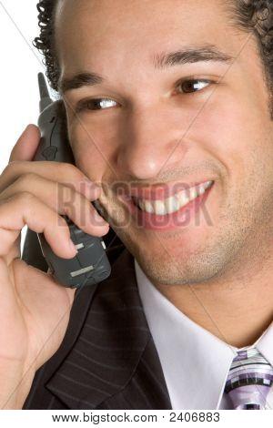Business Phone Man