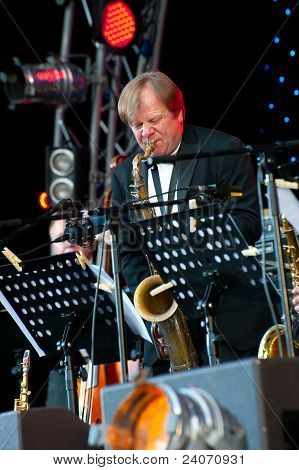 Russian Jazz Musician Igor Butman Performs