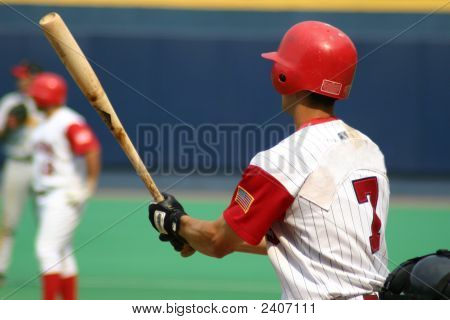 Baseball Player Close-Up