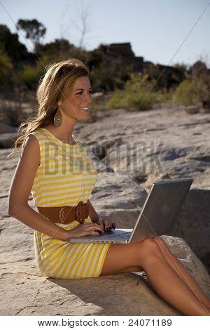 Yellow Dress Computer