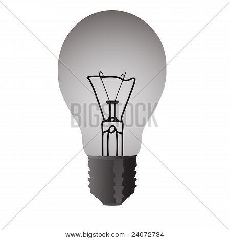 Light transparent bulb