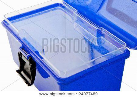 Makeup Case Blue Open