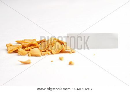 Fortune Cookie Smashed Slip Front