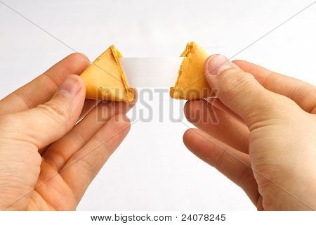 Fortune Cookie Hands Pull