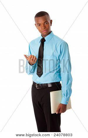 Handsome Young Business Gentleman