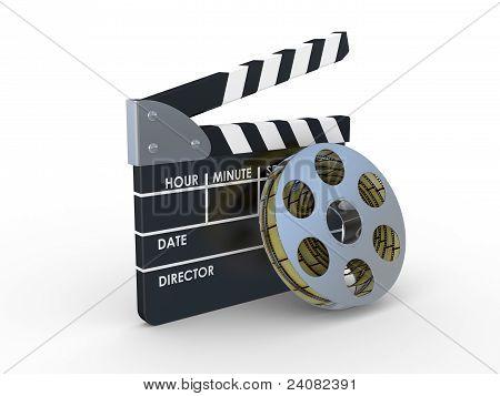 3D 35Mm Filmstreifen und Filmemacher