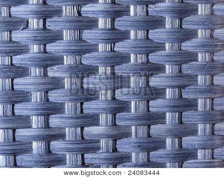 woven blue texture