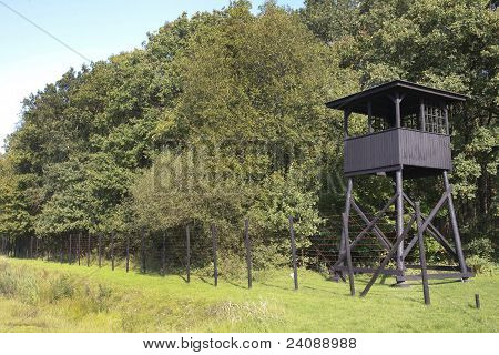 Concentration Camp Westerbork Watchtower