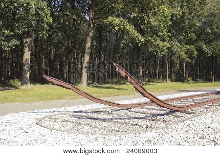 Denkmal im ehemaligen Konzentrationslager In den Niederlanden
